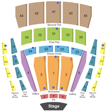 Concert Seating Chart Interactive Seating Chart Seat Views