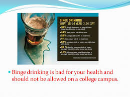 Is A Health Allowed And Ppt Be By Bad Your - College For Drinking Download Not Should On Binge Campus Tommy Lee