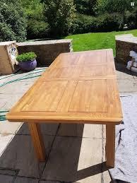 london knightsbridge surrey oak extending table