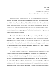 compare contrast native american tribes essay cherokee hunting