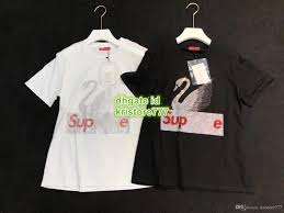 Dhgate Designer Shirts Women Luxury Designer Shirts Oversize Swan Rhinestone T Shirt Girls Tops Letter Print Shirt Runway Female Casual T Shirt Short Tee