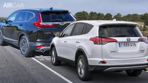 2017 Honda CR-V Vs Toyota RAV4 ▻ Which is better? - YouTube