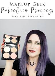 makeup geek porcelain princess flawless face palette review rant and swatches see why i