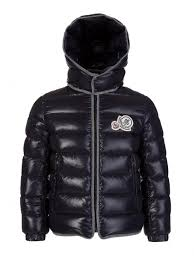 Moncler Junior Navy Rembrandt Padded Jacket