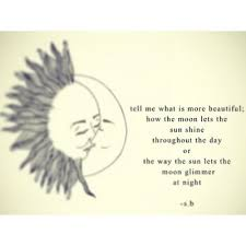 Love Sun Moon Quotes Via Tumblr On We Heart It Simple Sun Quotes