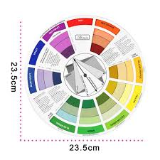 Eternal Ink Colour Chart Us 19 31 31 Off Atomus 10pcs Tattoo Ink Color Wheel Chart Microblanding Makeup Accessories Micro Pigment Color Wheel Guide To Mixing Color In Tattoo