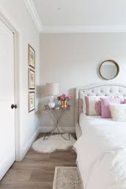 White and Pink Bedroom Inspiration | White Walls | White Bedding | Pink  Accent Pillows |
