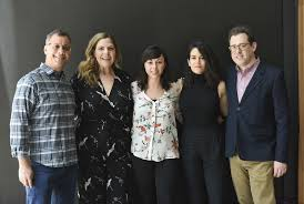 Abbi Jacobson, Larry Salz, Tara Schuster, Christie Smith, Kent Alterman - Christie  Smith Photos - Equity And Allies - The Role Of Men In Hollywood - Zimbio