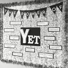 office bulletin board ideas yellow. my new power of yet bulletin board in intervention room such a great reminder office ideas yellow p