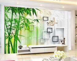 Custom 3d Foto Behang Woonkamer Muurschildering Sticker Palm Strand