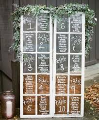 Vintage Window Wedding Seating Chart Ideas Emmalovesweddings