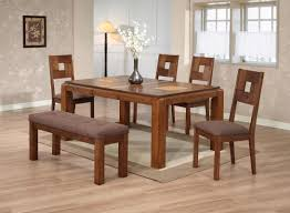 wood dining table set fresh on contemporary rustic solid and chairs oak