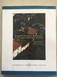 international edition organizational behavior nd edition by international edition organizational behavior 2nd edition robert kreitner and angelo kinicki