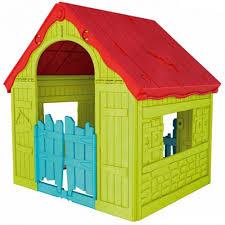 <b>Keter Foldable</b> Playhouse <b>Игровой Дом</b> складной Зеленый-красный