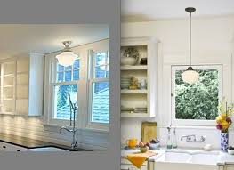 ... Remarkable Lighting Over Kitchen Sink And Light Over Kitchen Sink  Kitchen Traditional With Blue Pendant ...