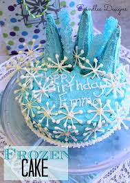 Frozen Birthday Cake Spindles Designs By Mary And Mags