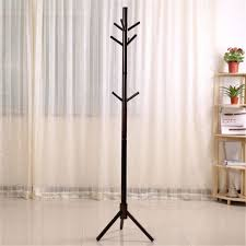 Ebay Coat Rack Custom Wood Coat Rack Hall Tree Coffeecolors Entryway Standing Hat Jacket