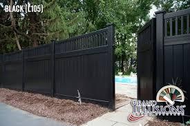 black vinyl fences. Delighful Vinyl EWF_NHaven017 With Black Vinyl Fences G