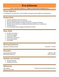 Babysitter Resume Get tips and templates for writing a professional babysitting  resume Whether you are applying to work in a daycare, private home, or a ch