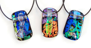 create make work fused glass pendants with dolors ruscha sold out
