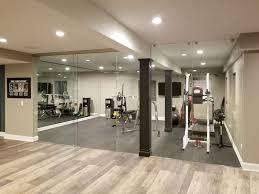 custom home gym mirrors creative