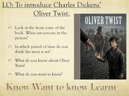 oliver twist sow ppt lo to introduce charles dickens oliver twist