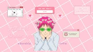 Saiki K. Aesthetic desktop wallpaper by ...