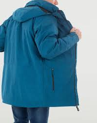 Buy Blue Parka Jacket Ripzone Pina Court