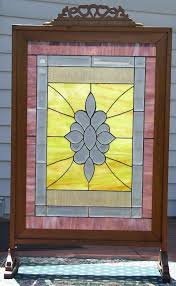 beautiful tall fireplace screen for our house amazing tall fireplace screen with the colorful glass