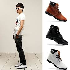 Taobao 2012 Summer New British Trend Of High Top Shoes Men Boots