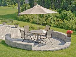 Small Picture crushed stone patio home design lovely ideas for small patios 2