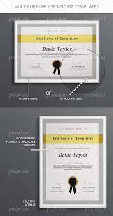 Corporate Certificate Template Magnificent MultiPurpose Certificate Templates Certificate Purpose And Template