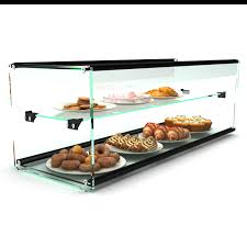 glass non refrigerated rectangular display cabinet ep30d countertop bakery display cases igoodcake