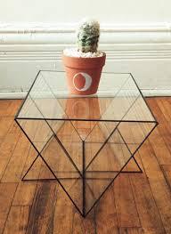 glass form furniture. glass geometric table form furniture s