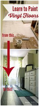 Kitchen Floor Paint 17 Best Ideas About Painted Vinyl Floors On Pinterest Painted