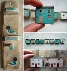 607 Best little houses images | Little houses, House quilts, House ...