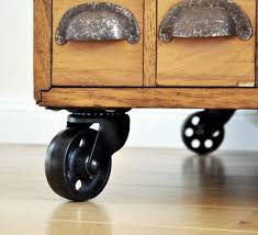 furniture with wheels. Spray Paint Can Easily Chip Off Shiny Metal So Colour New Steel Casters With A Permanent Furniture Wheels