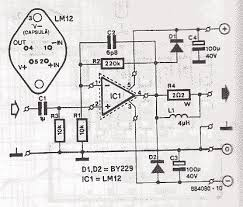 audio circuit diagram the wiring diagram 80w power audio amplifier lm12 schematic design circuit diagram