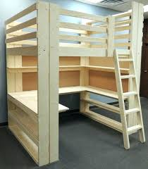 loft bed with desk plans bedroom makeovers using loft beds by college bed lofts bunk with loft bed with desk plans