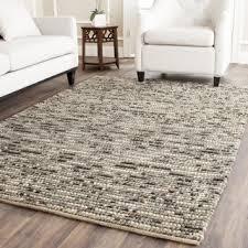 4 by 6 rug. Safavieh Hand-knotted Vegetable Dye Chunky Grey Blue Hemp Rug - 2\u0027 4 By 6 T