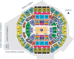Memphis Grizzlies Arena Seating Chart Grizzlies 22 Game Ticket Packages Memphis Grizzlies