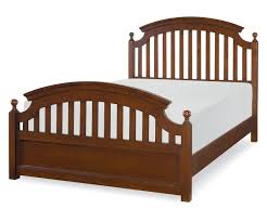 Legacy Bedroom Furniture Academy Full Size Panel Bed In Cinnamon Finish 5812 4104k Legacy