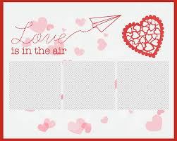 8 X 10 Heart Template New Marios Valentines Paper Airplane Holiday Bundle 3 Pack Template Heart Png Sized 8x10 Photoshop Background