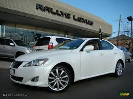 lexus is 250 2007 white. Simple White Lexus IS 250 AWD Intended Is 2007 White H