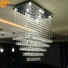 crystal drop chandelier rectangular crystal drop chandelier rectangular chandelier crystal light modern intended for elegant crystal drop chandelier