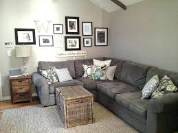 grey couch living room ideas the best taupe sofa neutral on dark gray decor