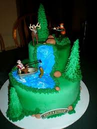 Hunting Fishing Grooms Cake Waggapoultryclub