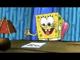 spongebob procrastination