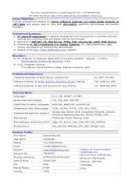 Resume Samples For Software Engineers With Experience Bongdaao Com