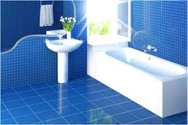 Best Bathroom Floor Tile Blue Bath White Blue Bathroom Tiled Floor ...